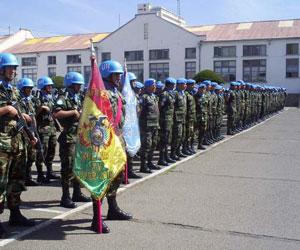 Bolivia aprueba envío de tropas de paz a Haití