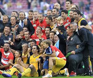 El Atlético de Simeone, cuatro títulos en dos años