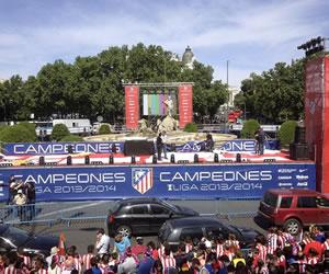 El Atlético se proclama 'rey de España'