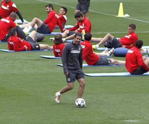 Las sensaciones de pretemporada como motivación del Atlético de Simeone para Lisboa