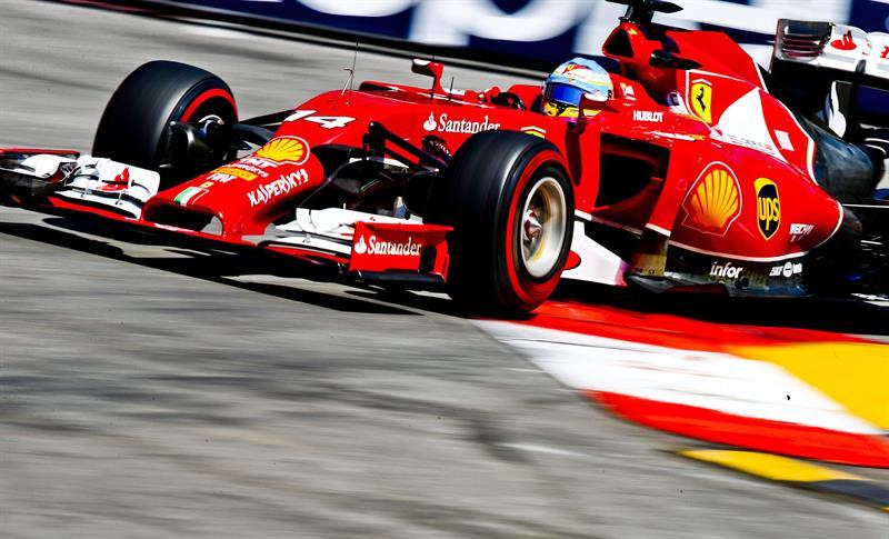 El piloto español Fernando Alonso durante la clasificación del Gran Premio de Mónaco. Foto: EFE