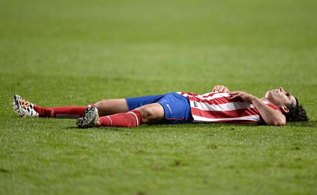 El jugador del Atlético de Madrid Tiago Mendes. EFE