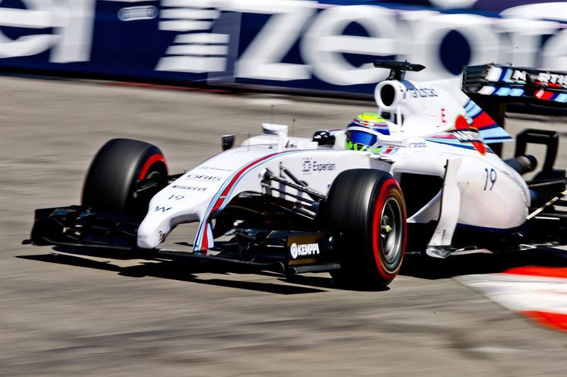 El piloto brasileño Felipe Massa durante la clasificación del Gran Premio de Mónaco. Foto: EFE