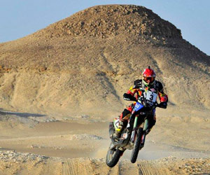'Chavo' gana el Rally de los Faraones