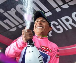El ciclista colombiano Nairo Quintana. EFE