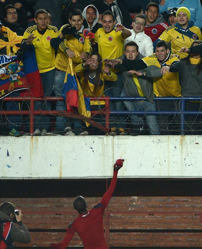 Colombia derrotó 3-0 a Jordania con goles de James, Cuadrado y Guarín. Foto: EFE.