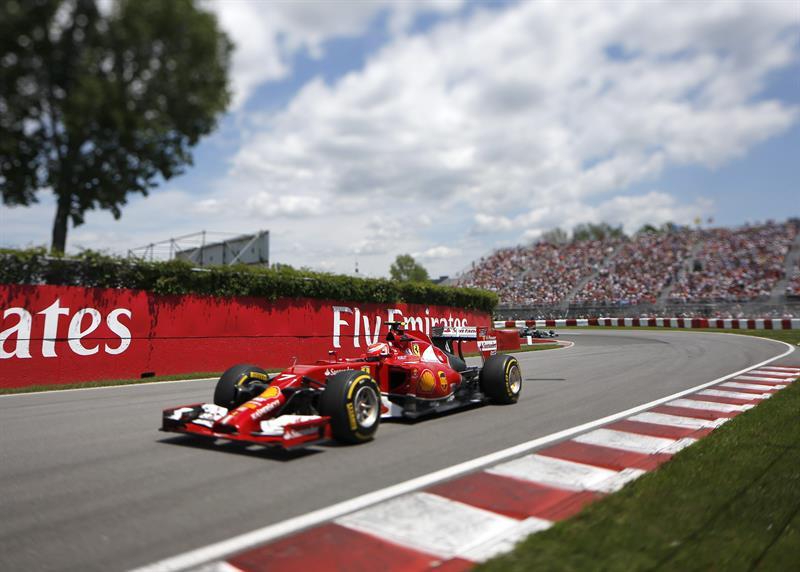 El piloto finlandés Kimi Raikkonen durante la clasificación del Gran Premio de Canadá. Foto: EFE
