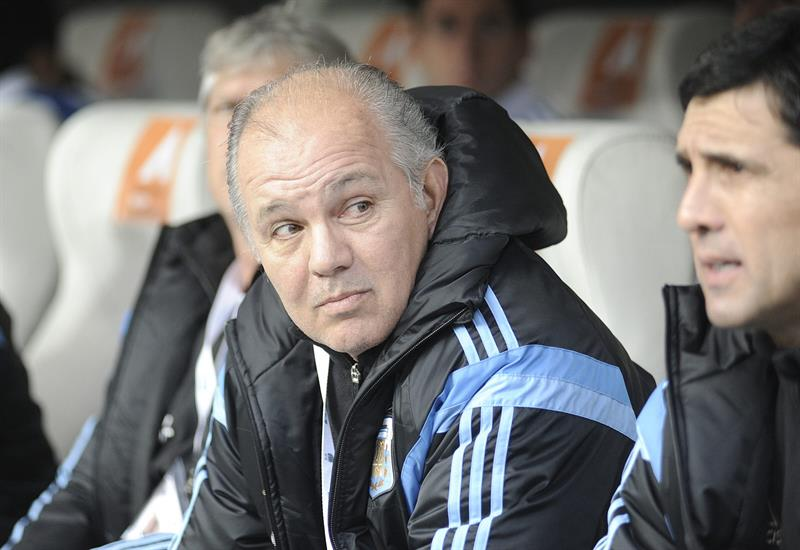 El entrenador de la selección argentina Sabella. Foto: EFE