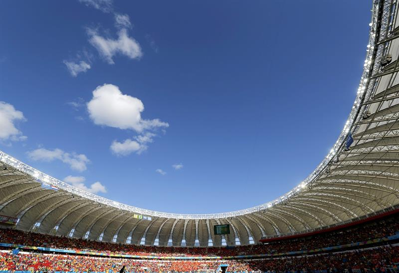 General view of the Estadio Beira-Rio prior to the FIFA World Cup 2014 group B. EFE