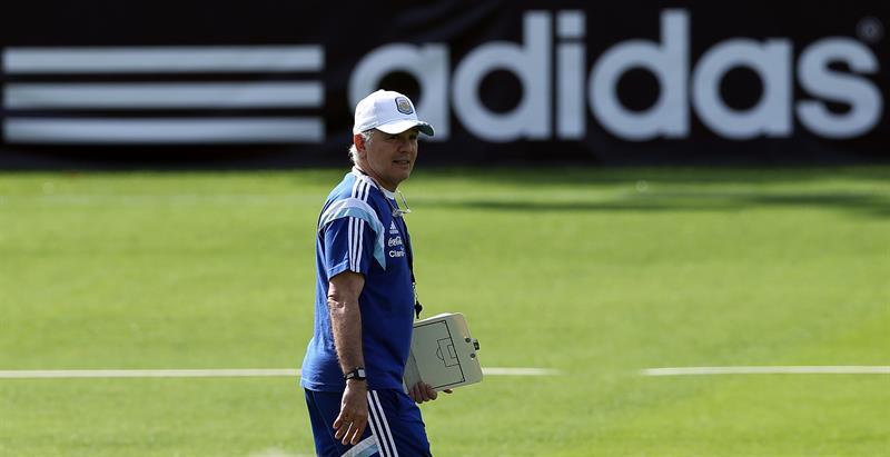 El entrenador de la selección argentina de fútbol, Alejandro Sabella. EFE