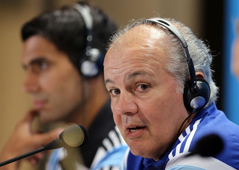 El técnico de la selección argentina, Alejandro Sabella. Foto: EFE