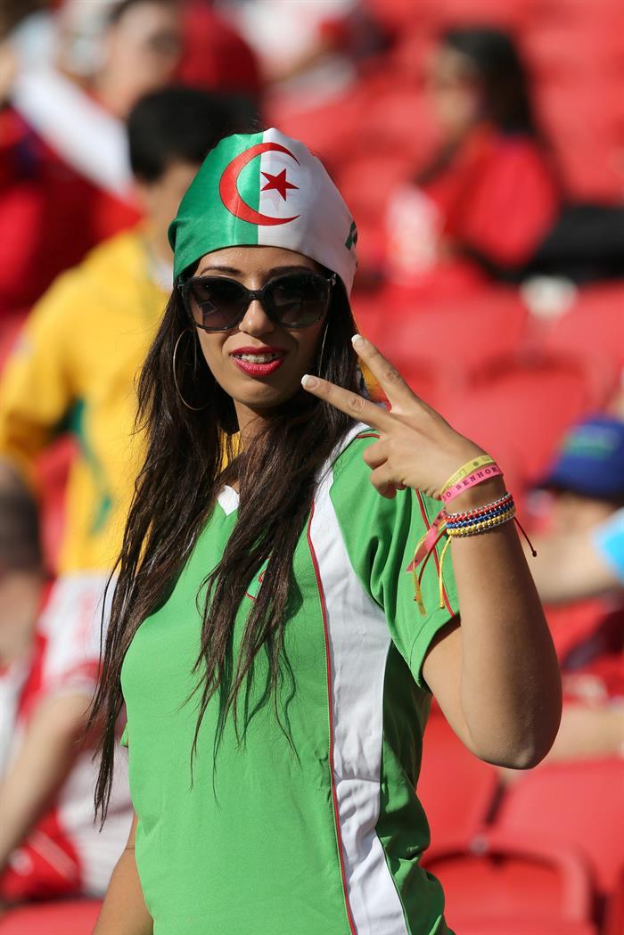 Argelia gana a Corea del Sur y se posiciona para luchar por octavos. EFE