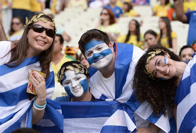 Grecia se encuentra con una clasificación que tenía en la mano C.Marfil. EFE