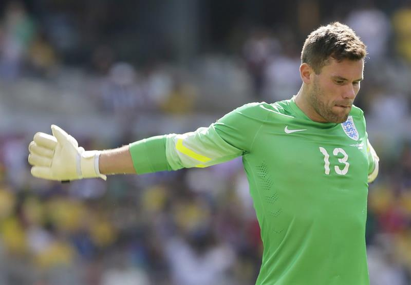 Goalkeeper Ben Foster of England during the FIFA World Cup 2014 group D. EFE