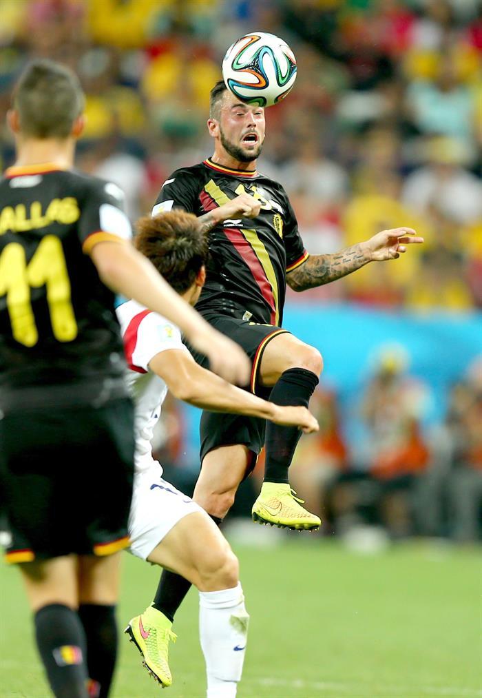 Bélgica completa la primera fase con el máximo de puntos. EFE