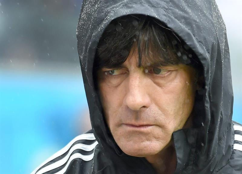 Germany's head coach Joachim Loew during the FIFA World Cup 2014 group G preliminary round match between the USA and Germany at the Arena Pernambuco in Recife. EFE