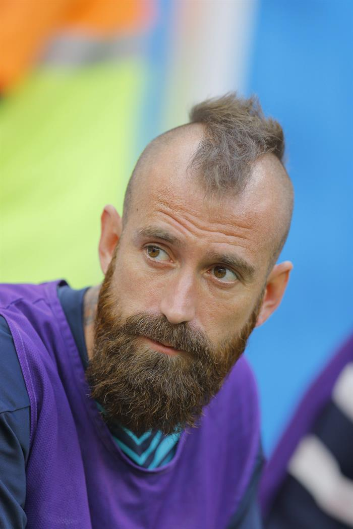 Raul Meireles of Portugal before the FIFA World Cup 2014 group G. EFE