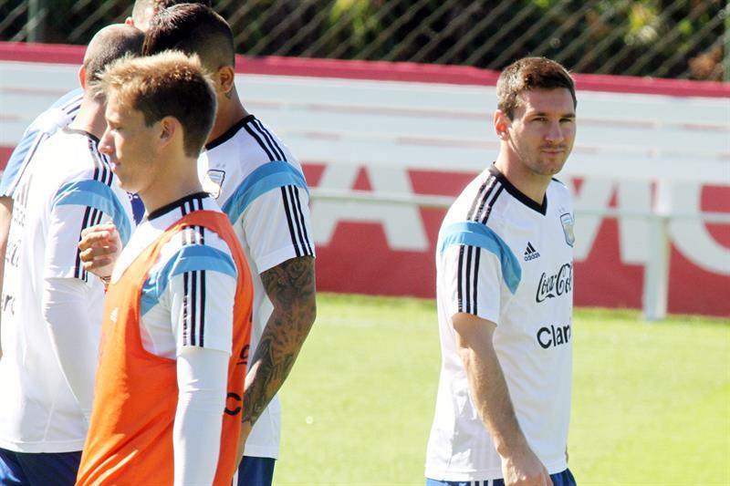 El jugador de la selección Argentina LioneL Messi . EFE