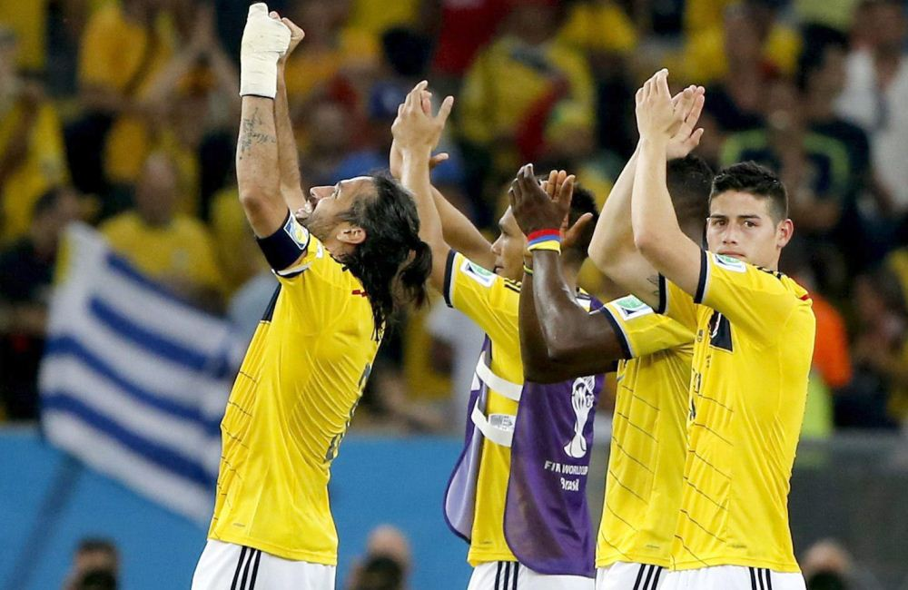 Ahora, Colombia buscará su paso a semifinales ante Brasil, e anfitrión. Foto: EFE.