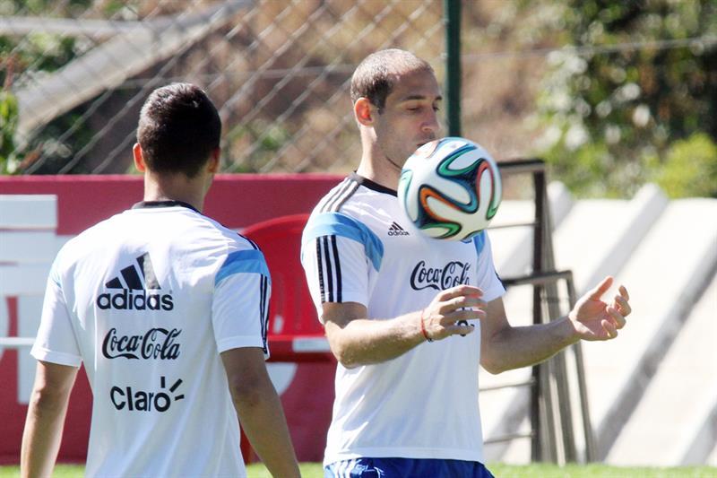 El jugador de la selección Argentina Pablo Zabaleta. EFE