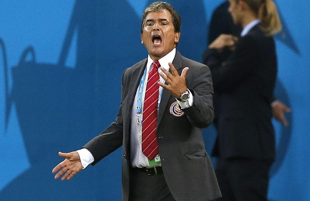 Pinto llegó a cuartos de final con Costa Rica