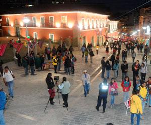 La tradicional calle Evaristo Valle de La Paz luce su belleza patrimonial