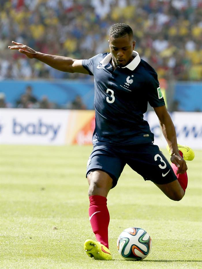 Patrice Evra of France in action during the FIFA World Cup 2014. EFE