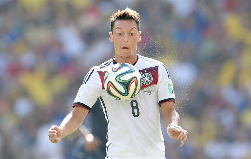 Mesut Oezil of Germany in action during the FIFA World Cup 2014. EFE