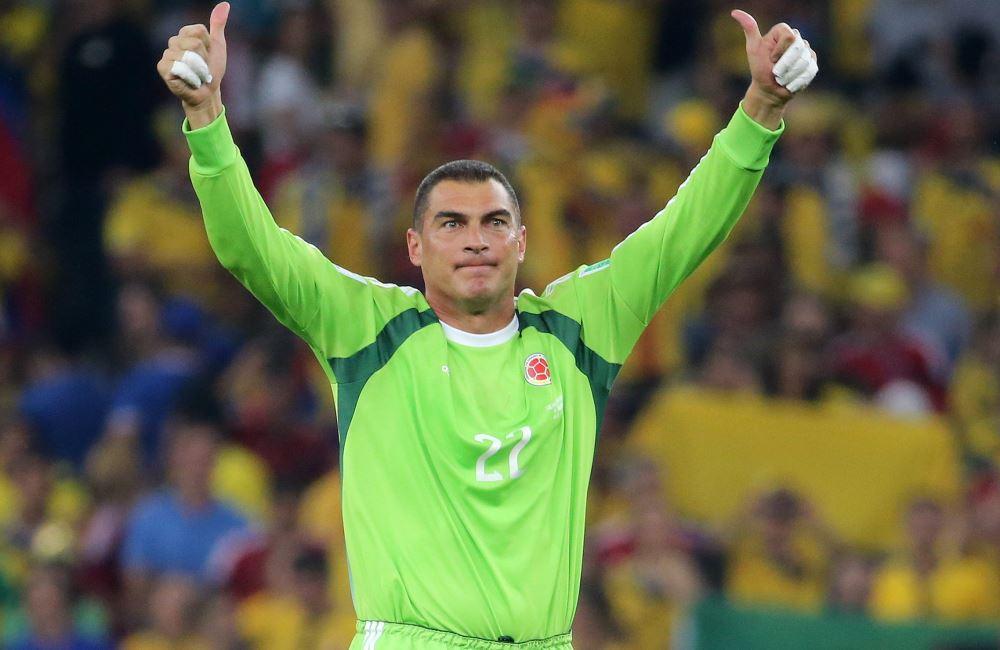 Faryd Mondragón fue el jugador de más edad en jugar en un Mundial. Foto: EFE