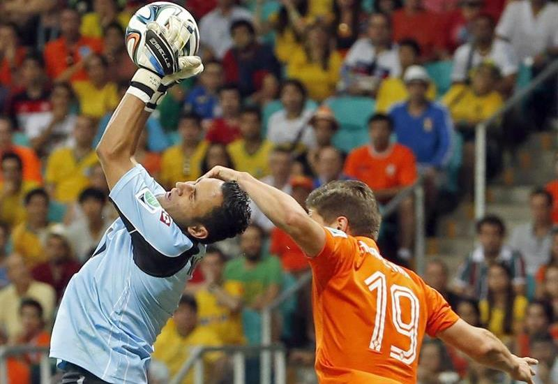 Galería del paso de Holanda a semifinales