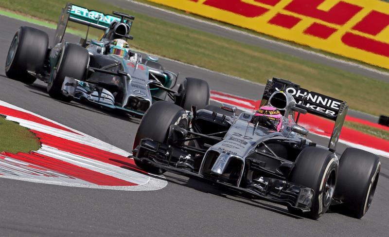 El triunfo de Lewis Hamilton en el Gran Premio de Gran Bretaña en imágenes. Foto: EFE