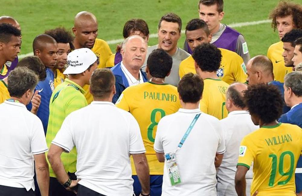 La derrota histórica de Brasil en el Mundial. Foto: EFE