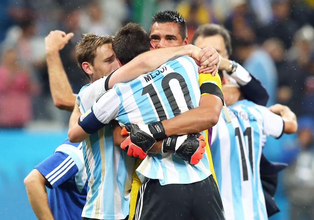 Romero pone a Argentina y a Messi en la final de la Copa Mundo