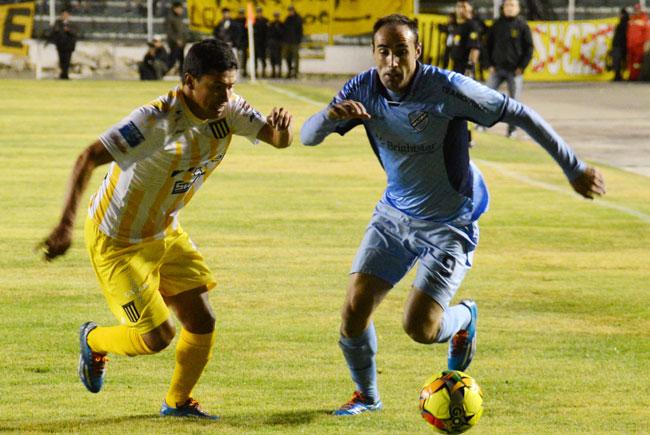 El clásico paceño correspondió a Bolívar en el inicio de la copa de invierno. ABI