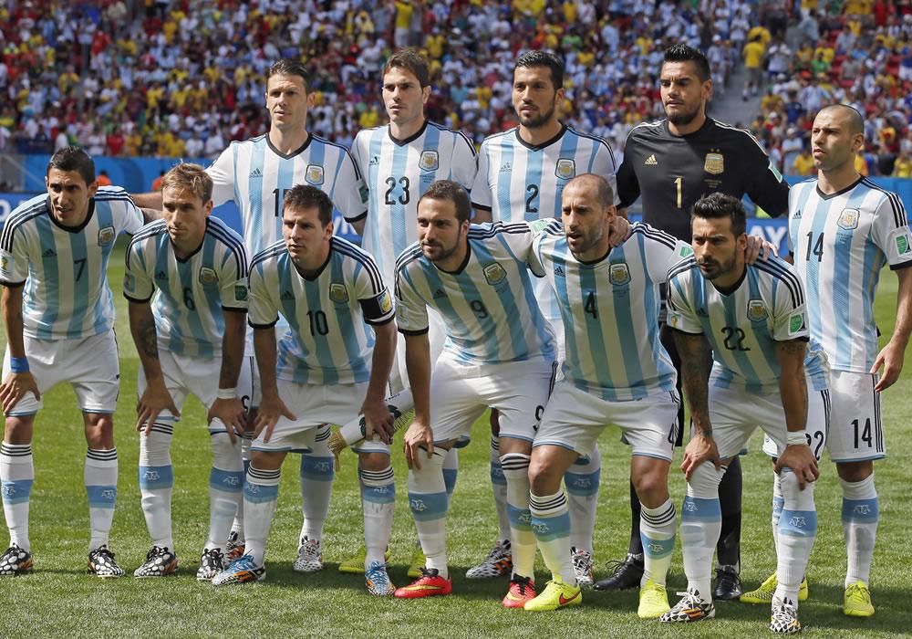 Así llegó Argentina a la final: cinco triunfos y un empate. Foto: EFE