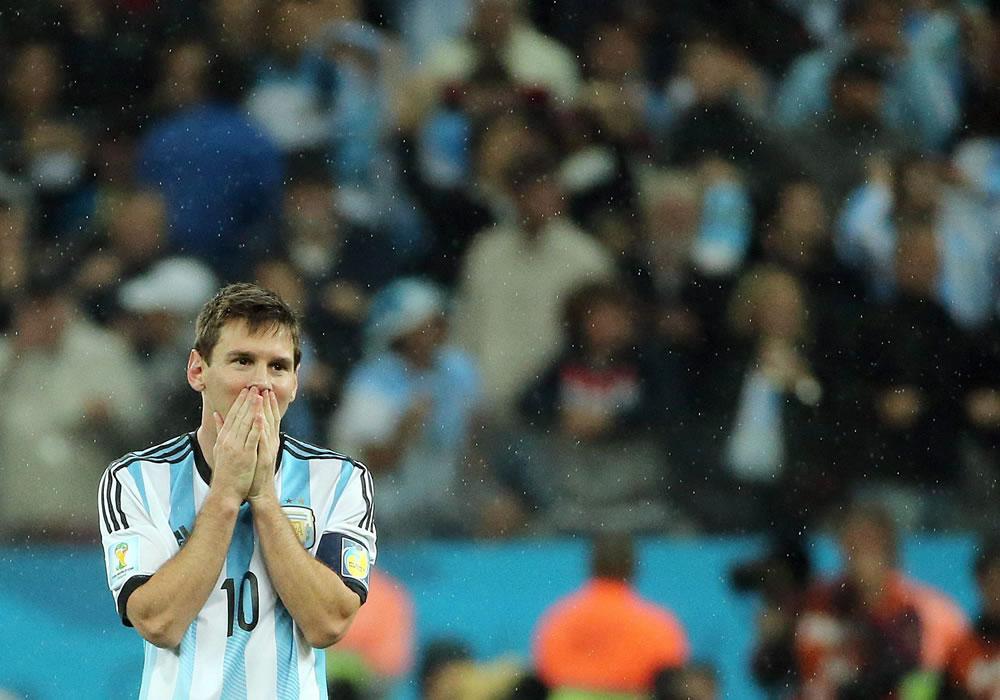 Messi, a 90 minutos de emular a Maradona como campeón del mundo. EFE