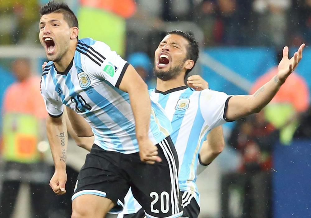 El delantero argentino Sergio