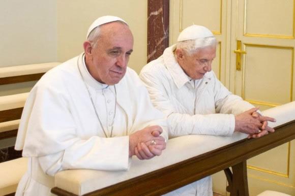 La final de los dos Papas, la que disputarán el domingo en el Maracaná Alemania y Argentina. EFE/Archivo