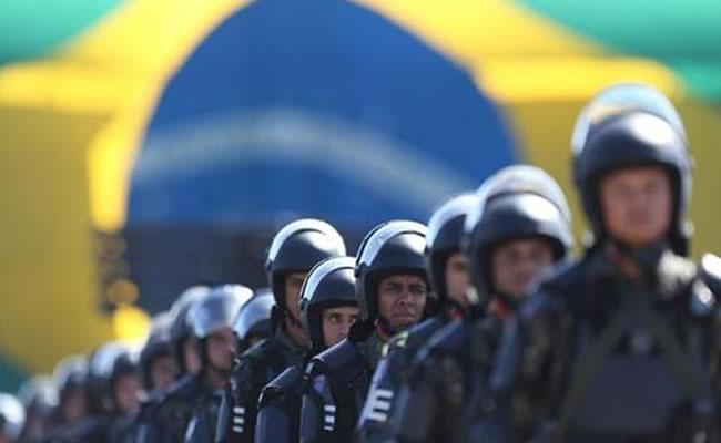 Río despliega mayor operación de seguridad de su historia en final de Mundial. Archivo EFE