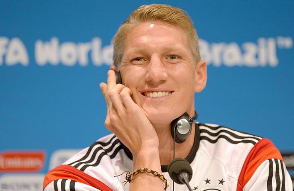Bastian Schweinsteiger, centrocampista de Alemania. EFE