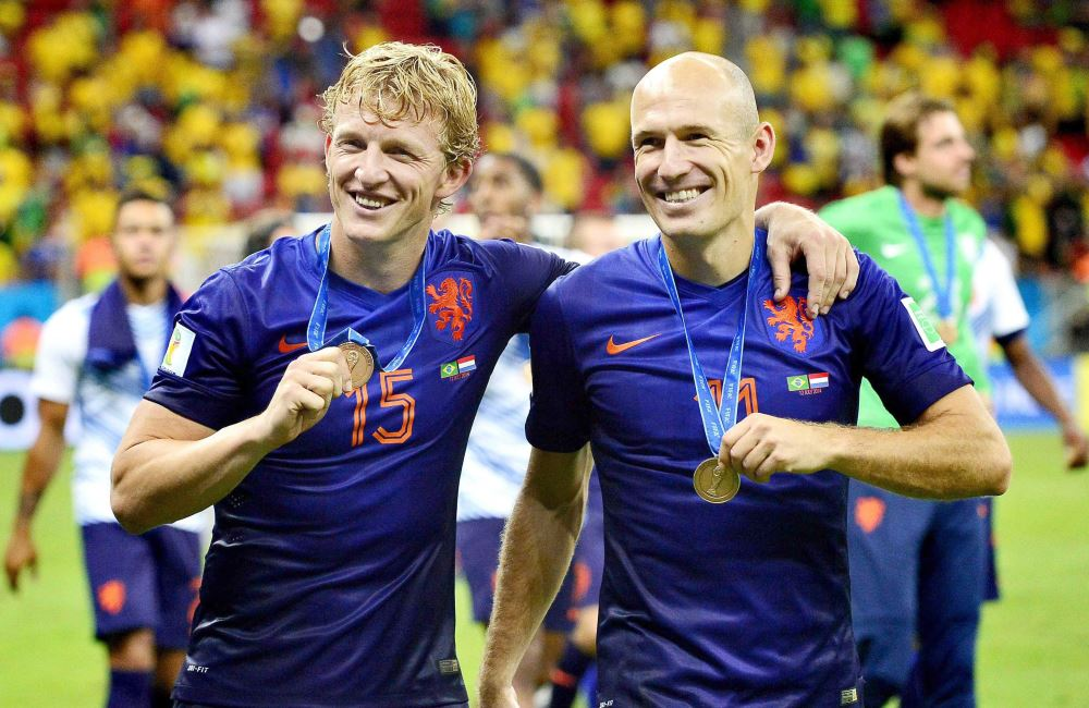 Holanda goleó a Brasil y subió al podio