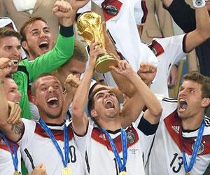 Alemania conquista su cuarto Mundial y vuelve a la cima después de 24 años. EFE