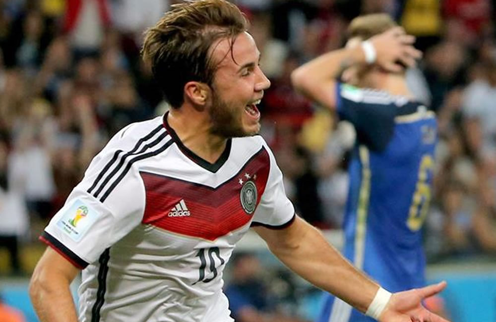 Alemania recoge la corona de España con un gol de Götze en la prórroga. EFE