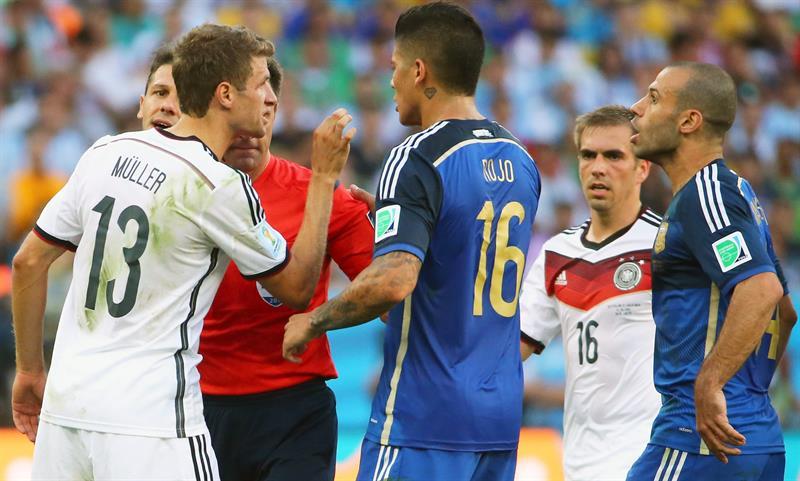Así se vivió la final entre Alemania y Argentina en imágenes. EFE