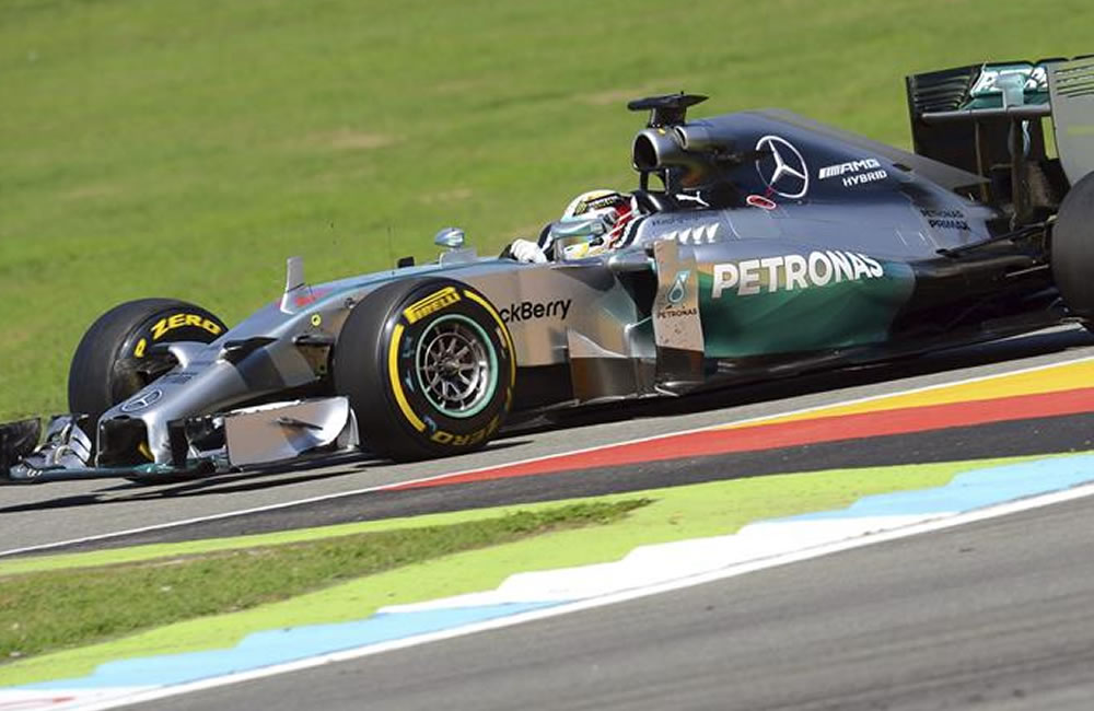 Hamilton reta de nuevo a Rosberg en Hockenheim