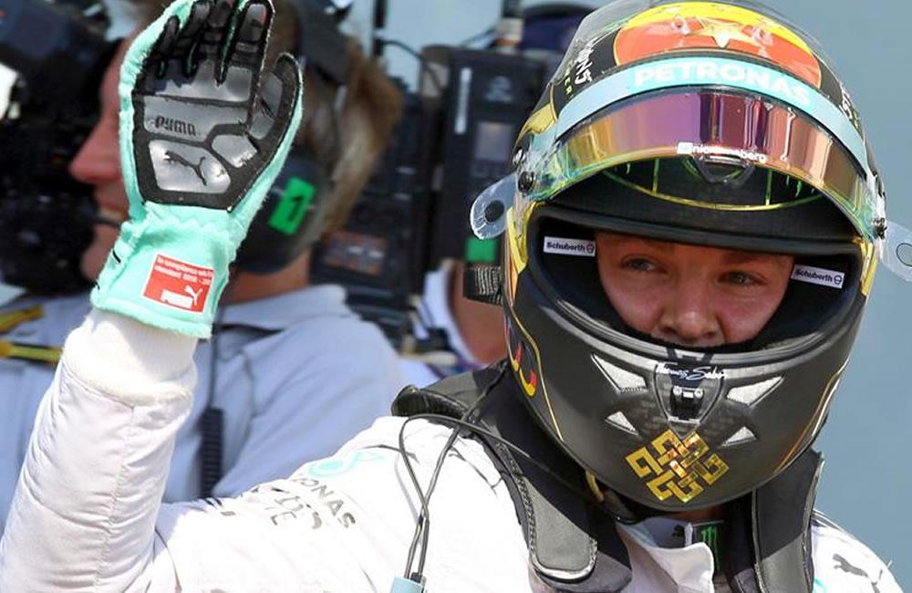 Rosberg en 'pole', Hamilton se estrella y Alonso saldrá séptimo en Hockenheim
