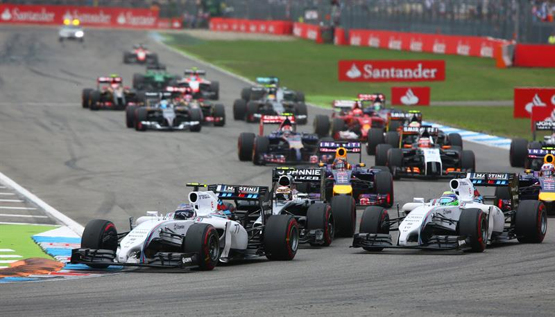 Así fue el Gran Premio de Alemania en el circuito de Hockenheim. Foto: EFE
