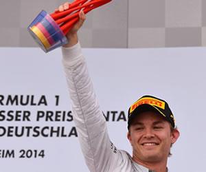 Rosberg, más líder tras ganar en Hockenheim