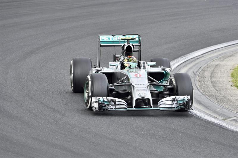 Nico Rosberg se quedó con la 'pole' para el Gran Premio de Hungría. Foto: EFE