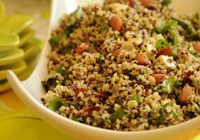 Ensalada de quinua con finas hierbas